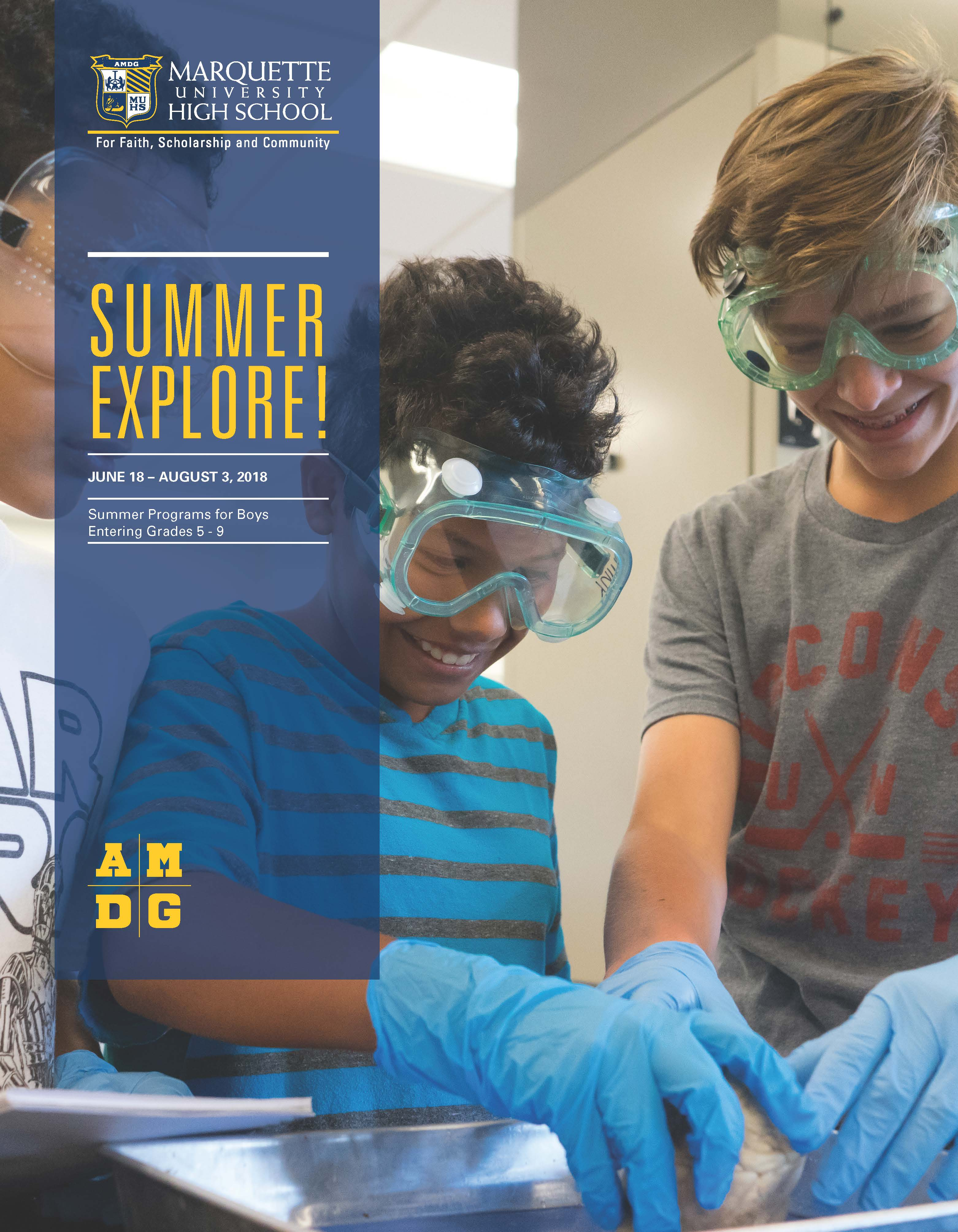 Summer EXPLORE Brochure